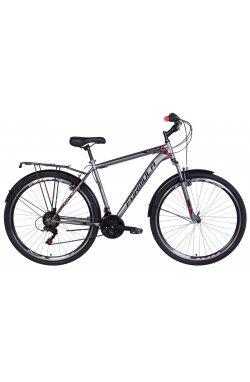 """Велосипед Велосипед 28"""" Formula MAGNUM 2021 (серый с красным)"""
