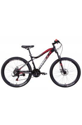 """Велосипед Велосипед AL 26"""" Formula ALPINA AM DD 2021 (черно-красный с серым)"""