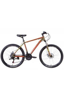 """Велосипед Велосипед 26"""" Formula THOR 2021 (хаки с красным (м))"""