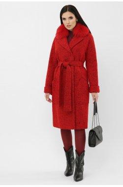 Пальто MS-184 Z — — GLEMШ4-красный