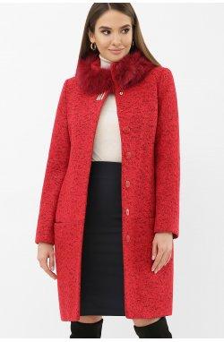 Пальто MS-185 Z — — GLEMМ31-красный