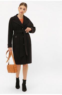 Пальто женское П-408-100 - GLEM, 161-черный