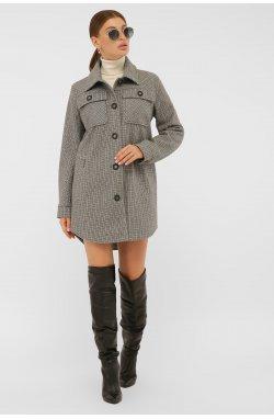 Пальто женское П-409-85 - GLEM, 2704-т.серый