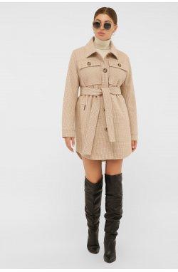 Пальто женское П-409-85 - GLEM, 2705-бежевый