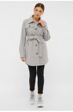 Пальто женское П-409-85 - GLEM, 2706-св.серый