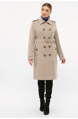 Пальто женское П-412-100 - GLEM, 047-св.серый