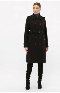 Пальто женское П-412-100 - GLEM, 161-черный
