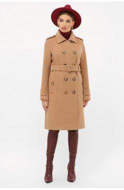 Пальто женское П-412-100 - GLEM, 239-песок