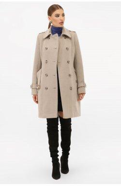 Пальто женское П-414-90 - GLEM, 047-св.серый