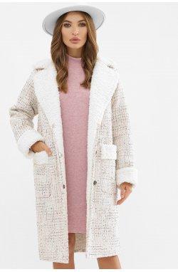 Пальто женское ПД-14-100 - GLEM, 3401-букле бежев.