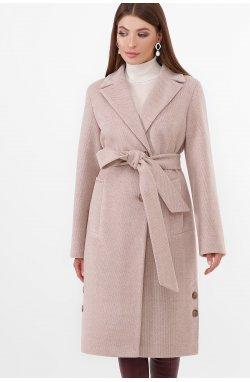 Пальто женское ПМ-104-d - GLEM, 30-св.бежевый