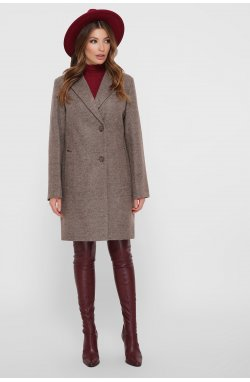 Пальто женское ПМ-111 - GLEM, коричневый