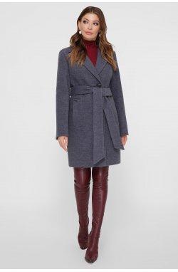Пальто женское ПМ-111 - GLEM, т. серый