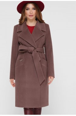 Пальто женское ПМ-125 - GLEM, 3-коричневый