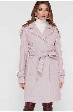 Пальто женское ПМ-129 - GLEM, 16-пудра