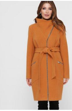 Пальто женское ПМ-29 - GLEM, горчица