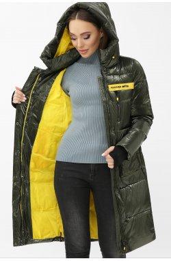 Куртка женская 298 - GLEM, 13-хаки-желтый