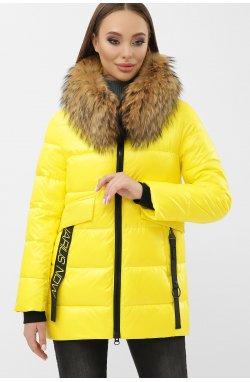 Куртка женская 8003 - GLEM, 06-желтый