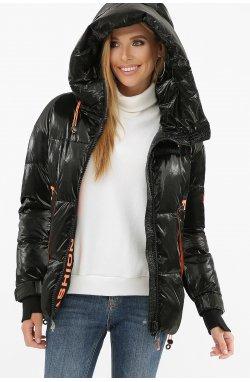 Куртка женская 8100 - GLEM, 01-черный-оранжевый