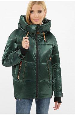 Куртка женская 8100 - GLEM, 03-изумруд-оранжевый