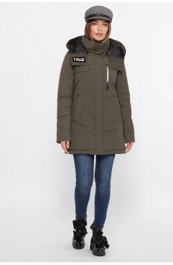 Куртка женская М-2082 - GLEM, 16-хаки