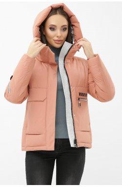 Куртка женская М-2092 - GLEM, 29-пудра-серебро