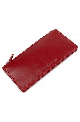 Оригинальное женское кожаное портмоне GRANDE PELLE 11514 Красный
