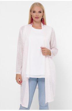 0201 Кардиган - GLEM, розовый