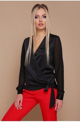 Блуза Божена д/р - GLEM, черный