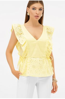 Блуза Илари б/р - GLEM, желтый