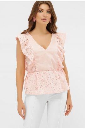Блуза Илари б/р - GLEM, персик