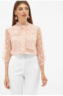 Блуза Ладонна 3/4 - GLEM, персик