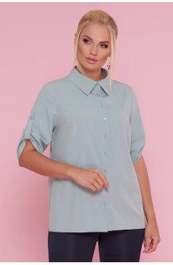 Блуза Лана-Б к/р - GLEM, оливковый