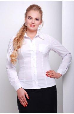 Блуза Марта-Б д/р - GLEM, белый