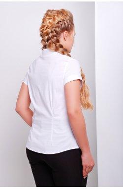 Блуза Марта-Б к/р - GLEM, белый