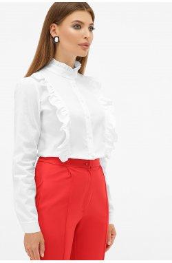 Блуза Мэнди д/р - GLEM, белый