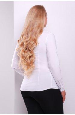 Блуза Норма-Б д/р - GLEM, белый