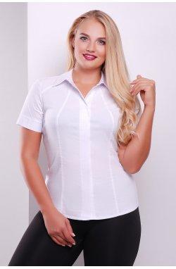 Блуза Норма-Б к/р - GLEM, белый