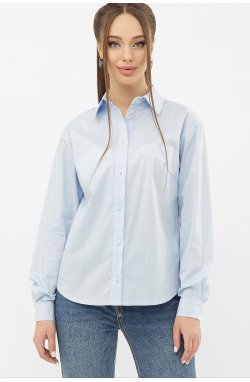 Блуза Пайра д/р - GLEM, голубой