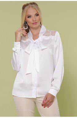 Блуза Роксана-Б д/р - GLEM, белый