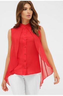 Блуза Санта-Круз б/р - GLEM, красный