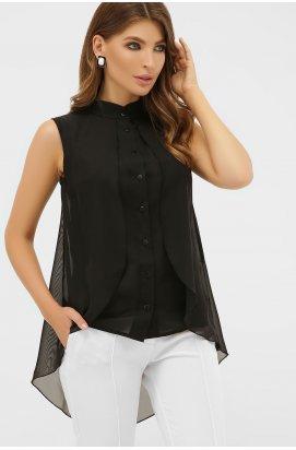 Блуза Санта-Круз б/р - GLEM, черный