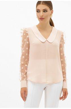 Блуза Сесиль д/р - GLEM, персик