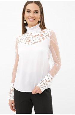 Блуза Соломея д/р - GLEM, белый