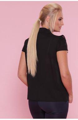 Блуза Федерика-Б к/р - GLEM, черный