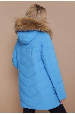 Куртка женская 18-182 - GLEM, голубой