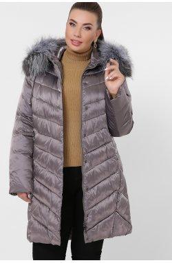 Куртка женская 19-60-Б - GLEM, 8-серо-коричневый