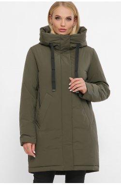 Куртка женская 20133 - GLEM, 16-хаки-черный