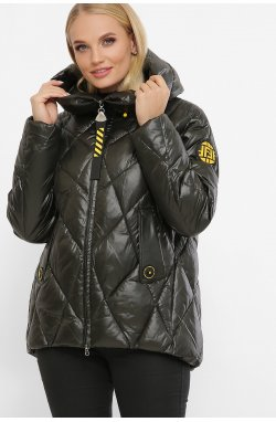 Куртка женская 2120 - GLEM, 13-т.хаки-желтый
