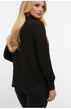 Маки Блуза Лекса-Б КШ д/р - GLEM, черный